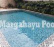 salah satu kolam renang minimalis yang dibuat oleh margahayu pool