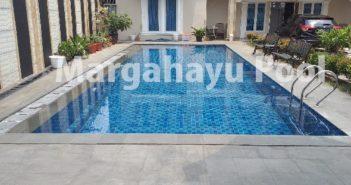 kolam renang klien yang dibuat oleh margahayu pool