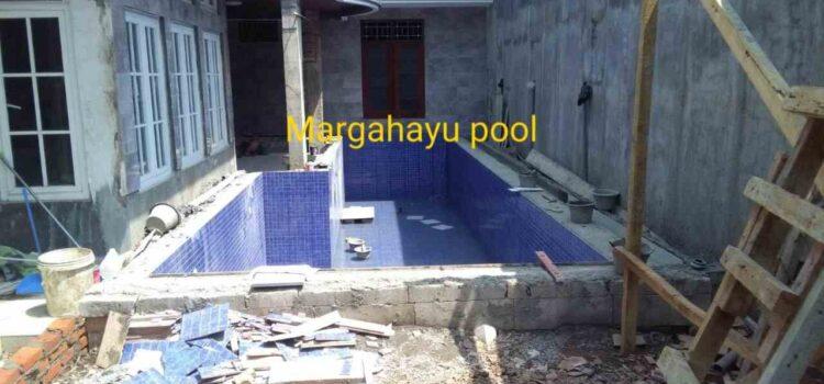 pembuatan kolam renang klien oleh margahayu pool2