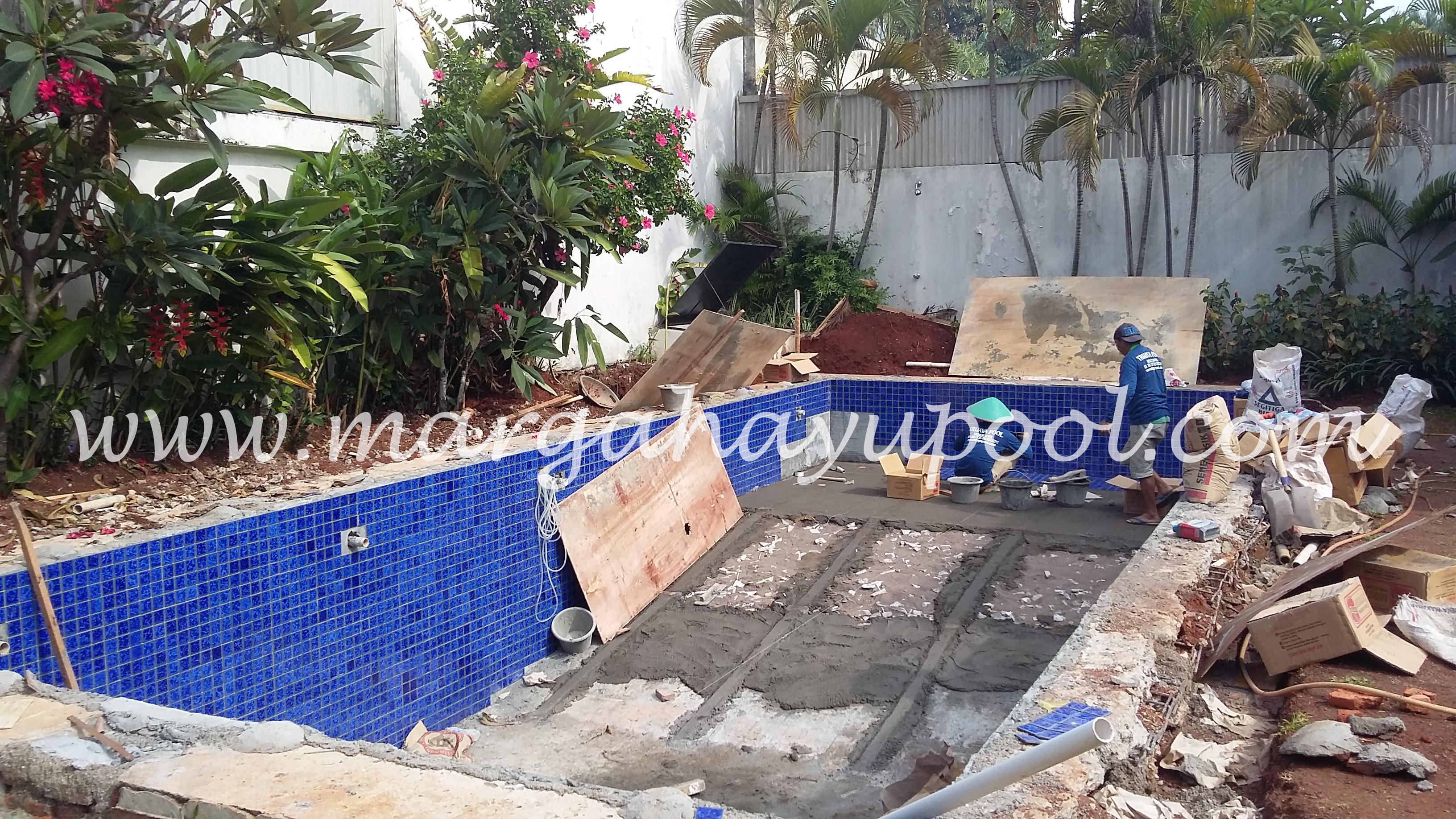Jasa Renovasi Kolam Renang Margahayu Pool Bandung
